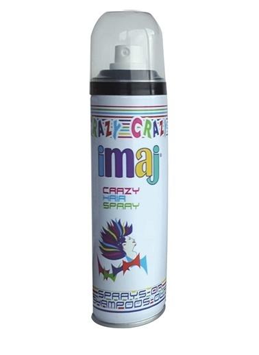 İmaj Crazy Saç Spray Siyah 100Ml Siyah